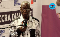 Dr. Kwadwo Afari Gyan is former chairperson of the Electoral Commission