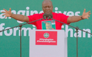 Mahama Outstretched Arms