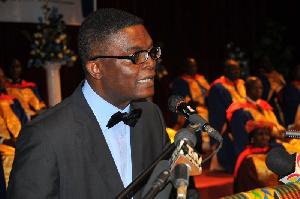 Dr. Emmanuel Akwetey, Executive Director for IDEG