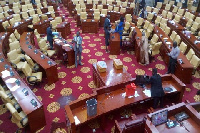 Rain disrupts Parliamentary sitting resulting in adjournment