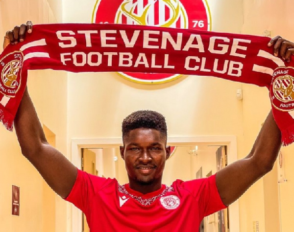 \'I am excited to be here\' - New Stevenage FC signing Joseph Anang
