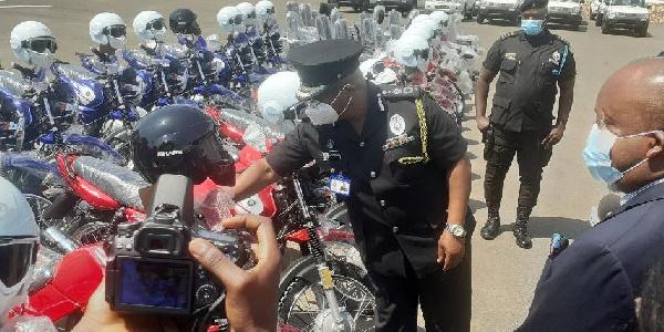 Election 2020: T.B. Joshua donates to Ghana Police service