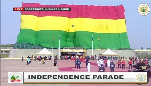 LIVESTREAMING: Ghana holds 64th Independence Parade