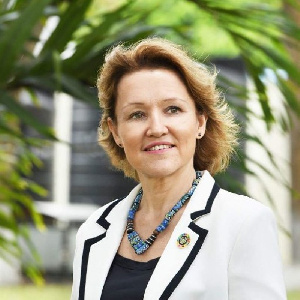Madam Anne-Claire Dufay, UNICEF Representative in Ghana