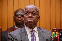 Former Vice President,  Paa Kwesi Amissah-Arthur