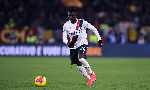 18-year-old Musa Juwara equalised for Bologna in the 74th minute against Internazionale on Sunday