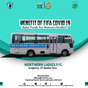 Northern Ladies FC Acquire New Bus