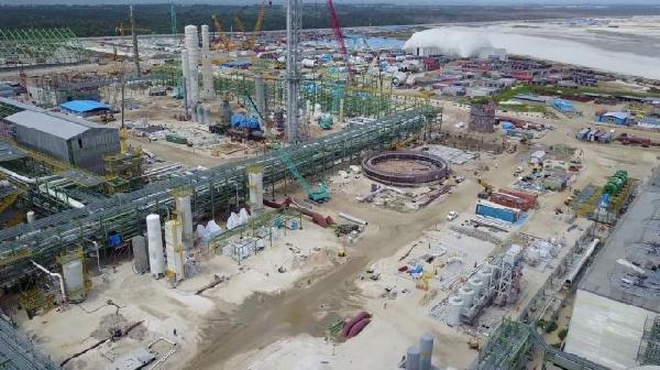 The plant has capacity of 3 million tonnes per annum