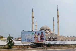 Some Muslims want the billboard removed