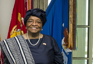 Ellen Johnson Sirleaf, the first elected female head of state in Africa, led Liberia during the West
