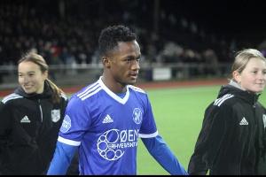 Ghanaian player, Emmanuel Toku
