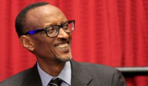 Paul Kagame is Rwandan President
