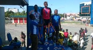 Padi wins three-day cycling festival