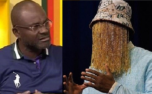 Kennedy Agyapong  is fighting the modus operandi of Anas