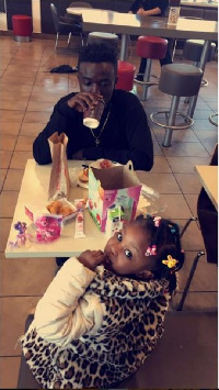 Criss Waddle and daughter, Coco Dearie