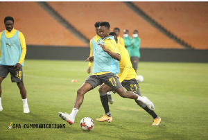 Ghana will play South Africa today