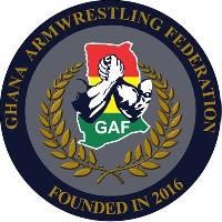 Logo of Ghana Armwrestling Federation (GAF)