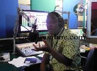 Kwame Sefa Kayi, show host