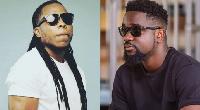 Ghanaian Rapper and VRMG boss, Edem and Sarkcess label boss, Sarkodie