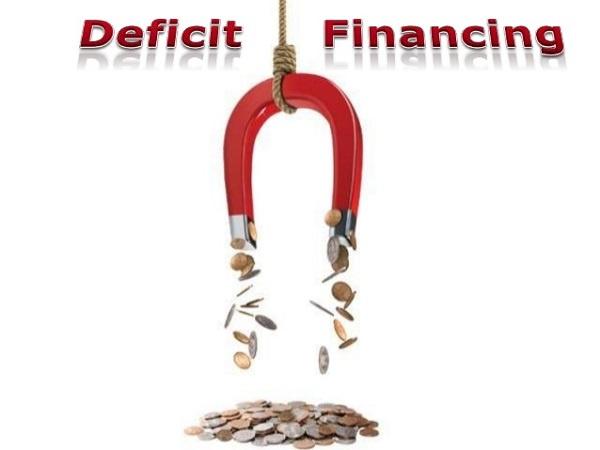 Govt deficit financing needs rise above target