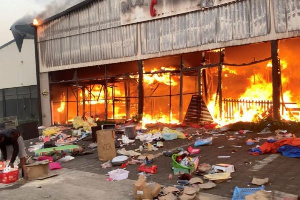 Rioting and looting broke out in parts of South Africa after the jailing of ex-president Zuma