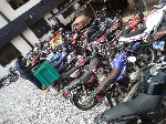 About 60 motorbikes were seized by the Accra Regional Police Command