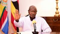 Ugandan President Yoweri Museveni. PHOTO | PPU