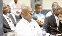 Treasurer of GHALCA, Mr. George Amoako