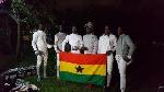 Ghana's fencing team