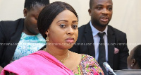 The Minister of State responsible for Public Procurement, Sarah Adwoa Safo