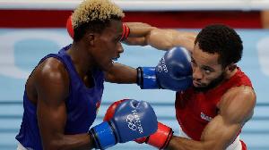 Takyi in action for Ghana