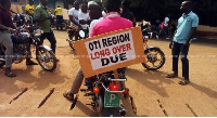 Oti Region is a newly proposed region to be created