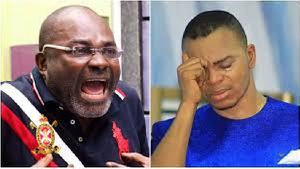 Kennedy Agyapong, MP for Assin Central and Bishop Daniel Obinim