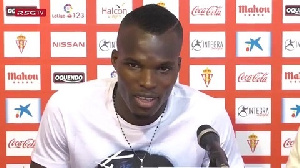 Cofie spent several years in the Serie A before signing for Sporting Gijon