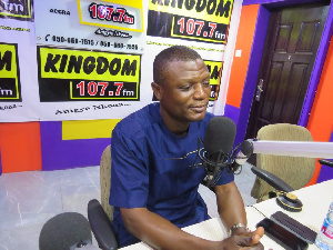 Kofi Adams, former NDC National Organizer