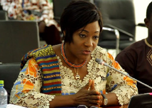 Former minister of Gender and Social Protection, Otiko Afisa Dzaba
