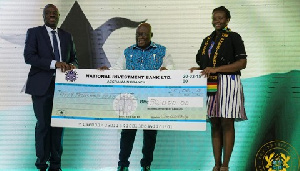 Akufo-Addo made a personal donation of GHS25,000 to  Vanessa Limann