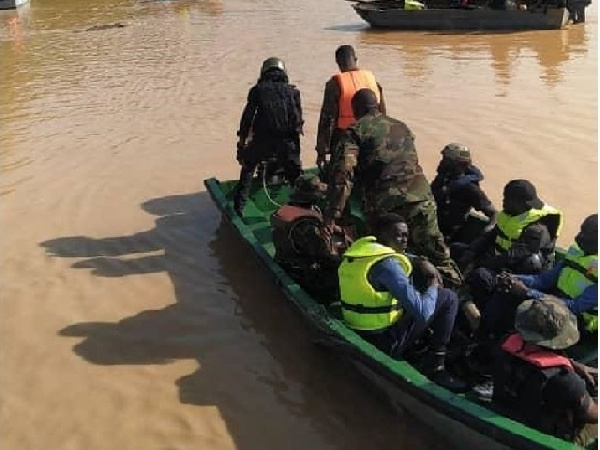 Galamsey: 400 soldiers deployed for Operation Halt II on Pra river