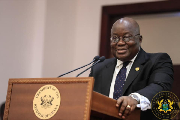 Choosing Ghana as your HQ 'excellent' - Akufo Addo to Twitter