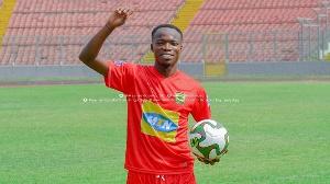Asante Kotoko midfielder Kwame Adom Frimpong