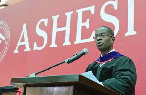 Dr Patrick Awuah, founder and president of Ashesi University