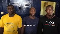 Kumasi shooting suspects