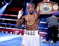Isaac Dogboe, Ghana's youngest World Champion