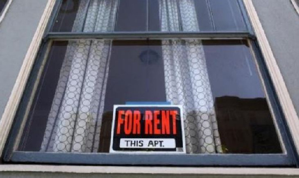 An apartment for rent being displayed