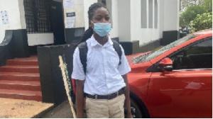 Oheneba Kwaku Nkrabea was denied admission at Achimota school because of his dreadlocks