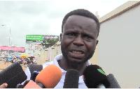 The Coalition's president, Nana Barimah Asamoah