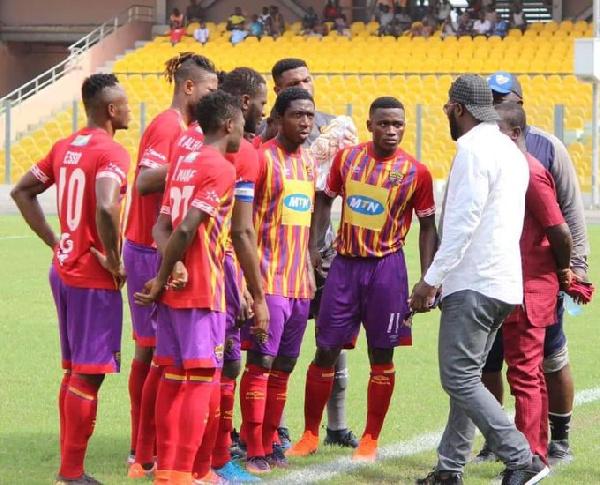 Amankwa Mireku worried by player exodus at Hearts of Oak