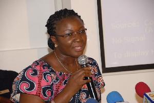 Mrs Joyce Bawah Mogtari, Dep. Minister of Transport