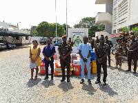The Ghana Prisons Service is one of the institutions that benefited from the donations