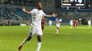 Ghana striker Patrick Twumasi